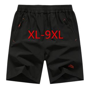 夏季男装休闲运动短裤特加肥加大码五分5胖子6肥佬7肥仔大号8胖人