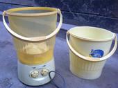 家用双桶缸柏肴自动迷你洗衣机婴儿宝宝洗袜子小型波轮洗衣机两用