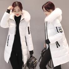 2017新款反季处理冬装棉衣女中长款韩版修身加厚棉袄棉服冬季外套