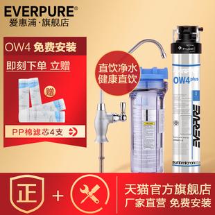 加强过滤重金属 美国爱惠浦净水器直饮OW4厨房自来水净水器