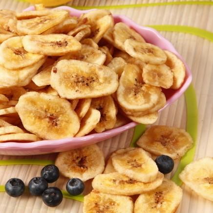 【天天特价】香蕉片500g香蕉干芭蕉干水果干香甜酥脆非油炸散装