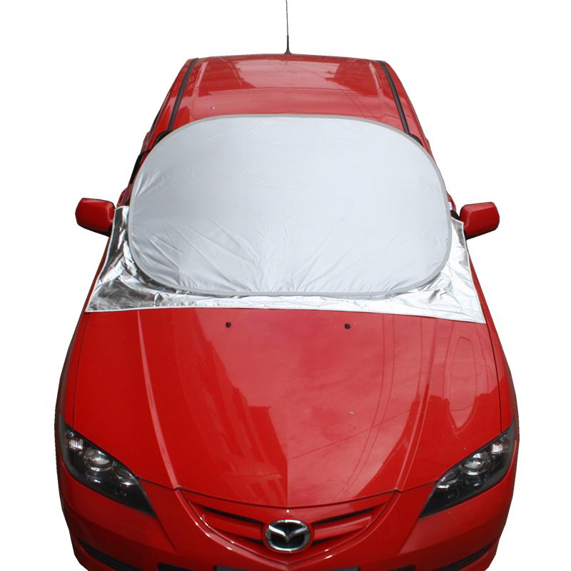 雪挡汽车遮阳挡车窗挡雪套半罩加厚防霜遮雪挡前挡风玻璃防冻罩