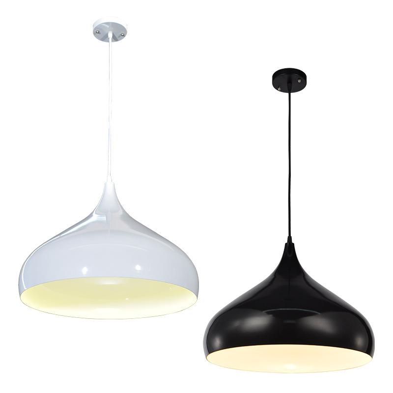 LED简约现代餐厅灯卧室玄关阳台吧台单头餐吊灯北欧时尚创意灯具