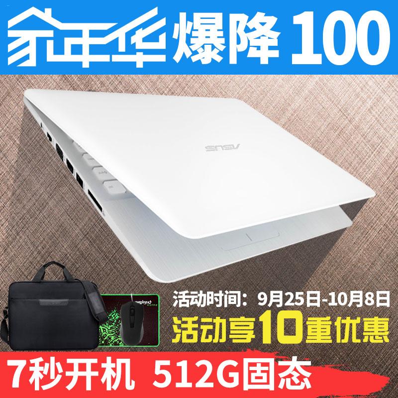 Asus/华硕 R R417SA3160/E402超薄四核14英寸学生办公笔记本电脑