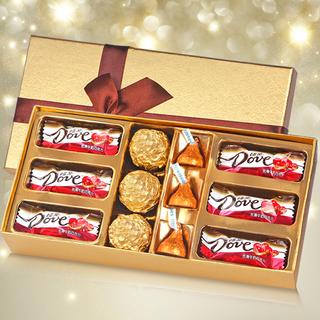 创意德芙巧克力礼盒12颗