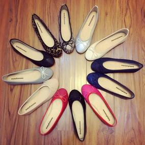 CSHOP日系平底浅口鞋可爱蝴蝶结女鞋单鞋芭蕾鞋超软防滑舒适经典
