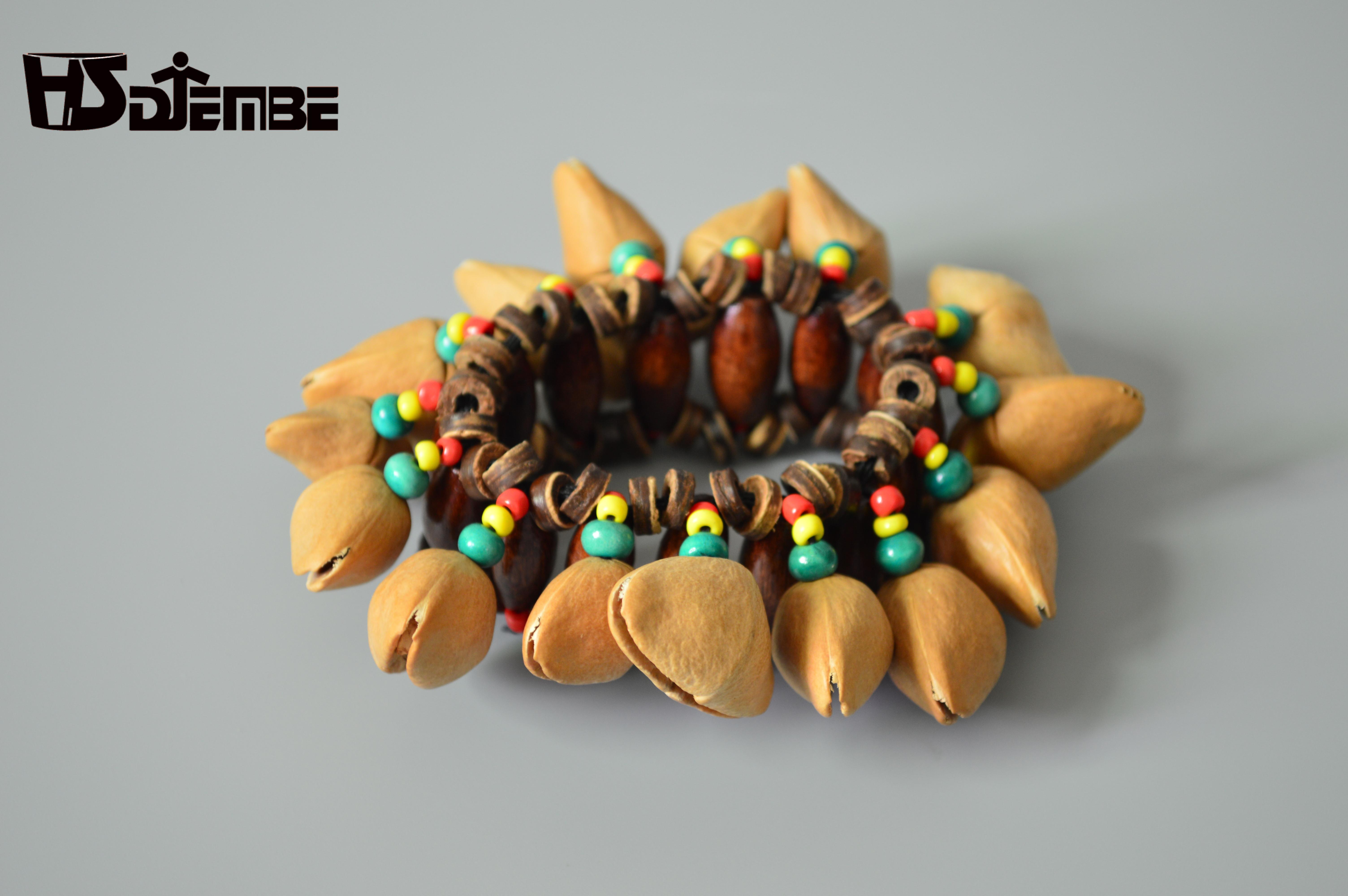 印尼 多拉果壳 果壳手铃 手鼓 非洲鼓伴奏 打击乐器 铛坚果壳脚链