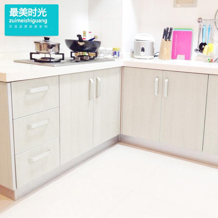 加厚白木纹自粘墙纸家具翻新卧室衣柜装饰墙防水厨房