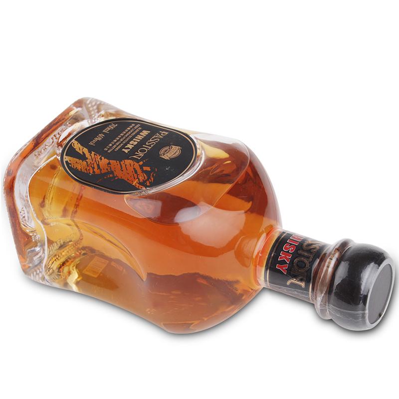 度烈酒 40 洋酒自饮鸡尾酒基酒 700ml 威士忌 情侣两支装 派斯顿正品