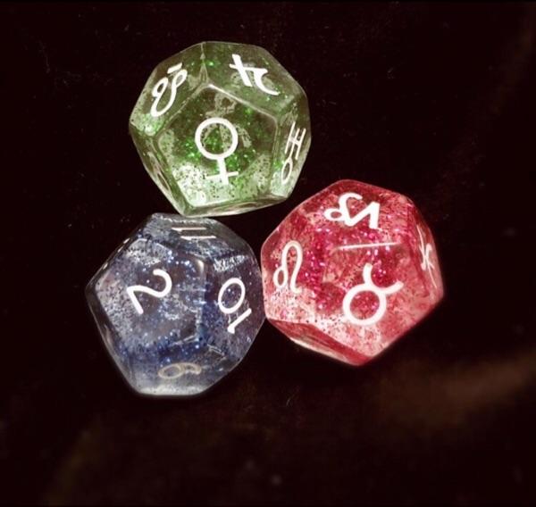 占星骰子详细解释 占卜 占星 一问一答