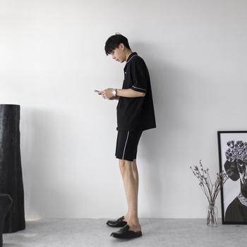 CCJE 休闲车边运动套装 卫裤+卫
