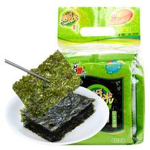 【天猫超市】喜之郎美好时光海苔24克原味海苔紫菜寿司休闲零食