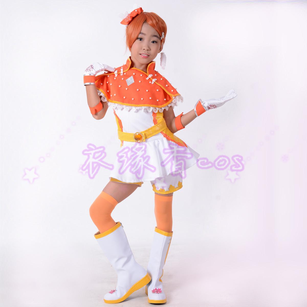舞法天女朵法拉第二季_舞法天女朵法拉第二季衣服芮闪天女苏爱蕾 cosplay儿童小孩服装