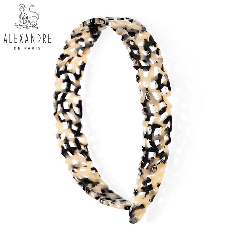 法国Alexandre De Paris亚历山大复古镂空压发头箍发箍发饰头饰