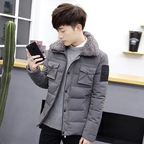 2017新款男士冬季棉衣外套青年袄子短款棉服韩版学生潮流帅气棉袄