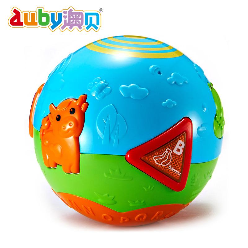 【天猫超市】澳贝 宝宝学爬行运动 健身玩具 农场滚滚球 手抓球