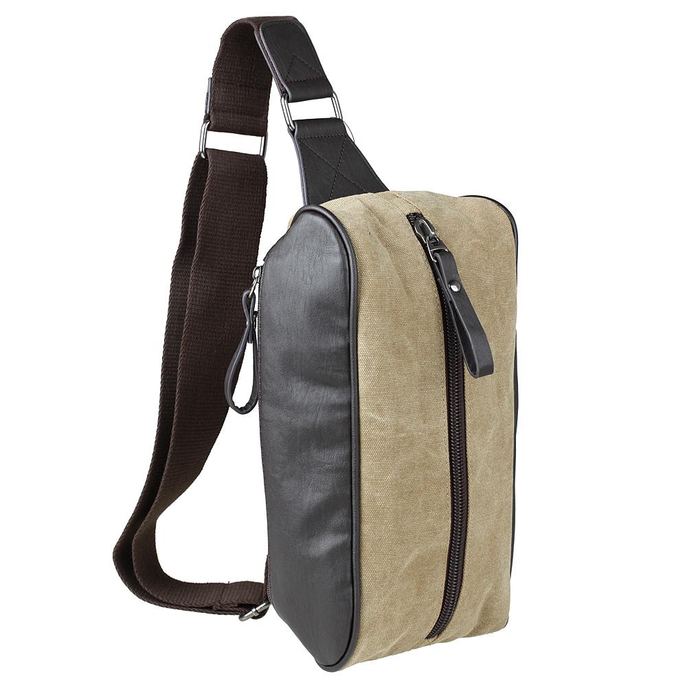 2015新款帆布+2侧皮精品胸包单肩斜挎包手机钥匙包运动男包逛街包