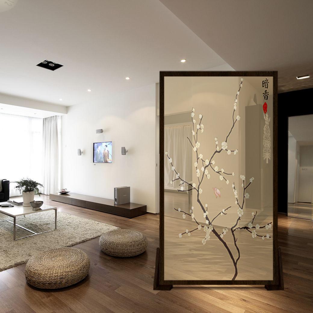 中式简约欧式屏风隔断客厅卧室