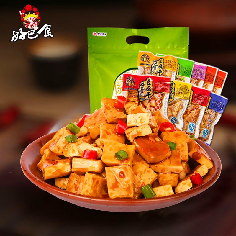 包装口味豆腐干南溪香辣豆干小特产四川 好巴食