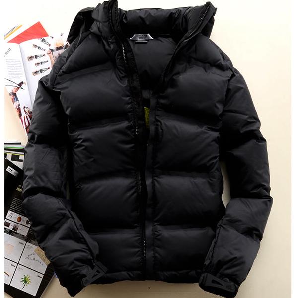 代购冬季羽绒服男韩版休闲加厚短款修身保暖棉袄外套衣青年冬装潮