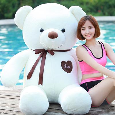泰迪熊公仔抱抱熊毛绒玩具女生大号熊猫布娃娃玩偶生日礼物送女友