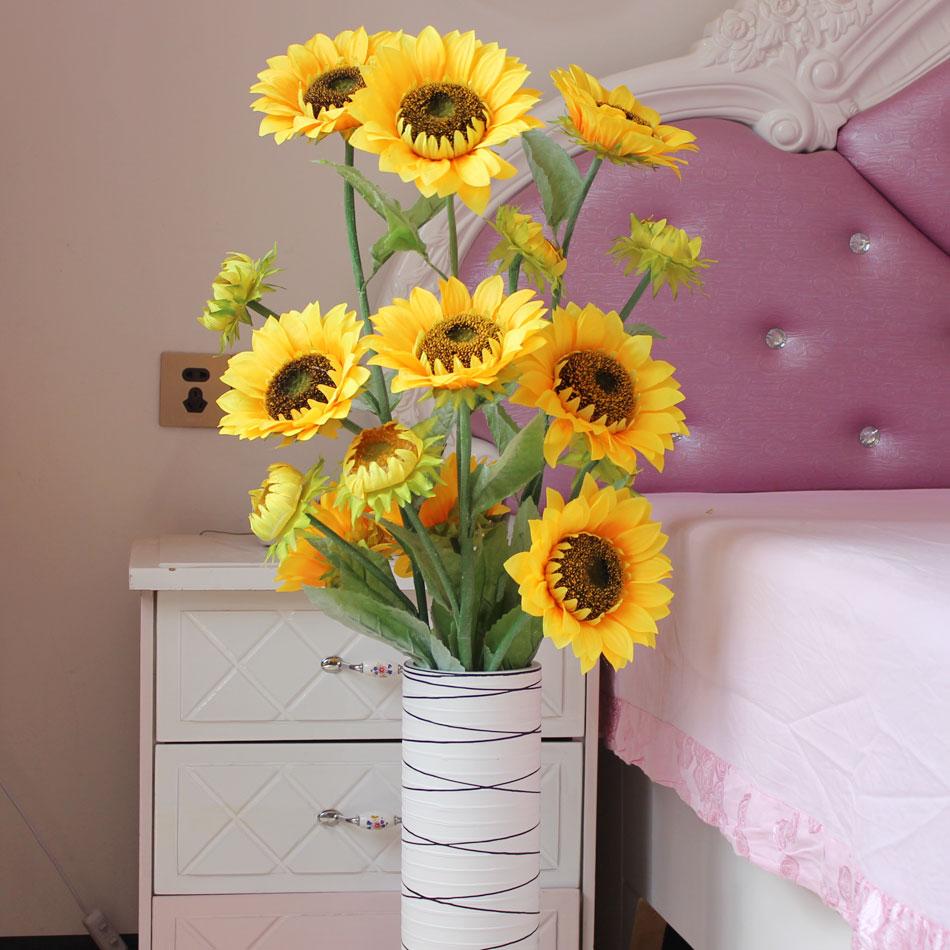 客厅室内欧式装饰花摆设