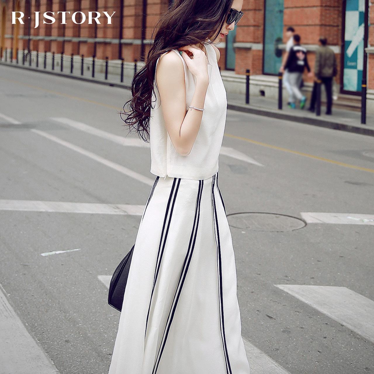 2017夏装新款韩版潮两件套中长款连衣裙女装春小香风时尚套装裙子