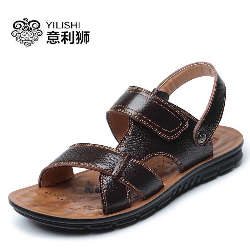 2017夏季男凉鞋新款购买价格及图片
