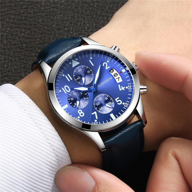 卡诗顿新款男表正品夜光钢带学生石英表防水休闲时尚账动男士手表