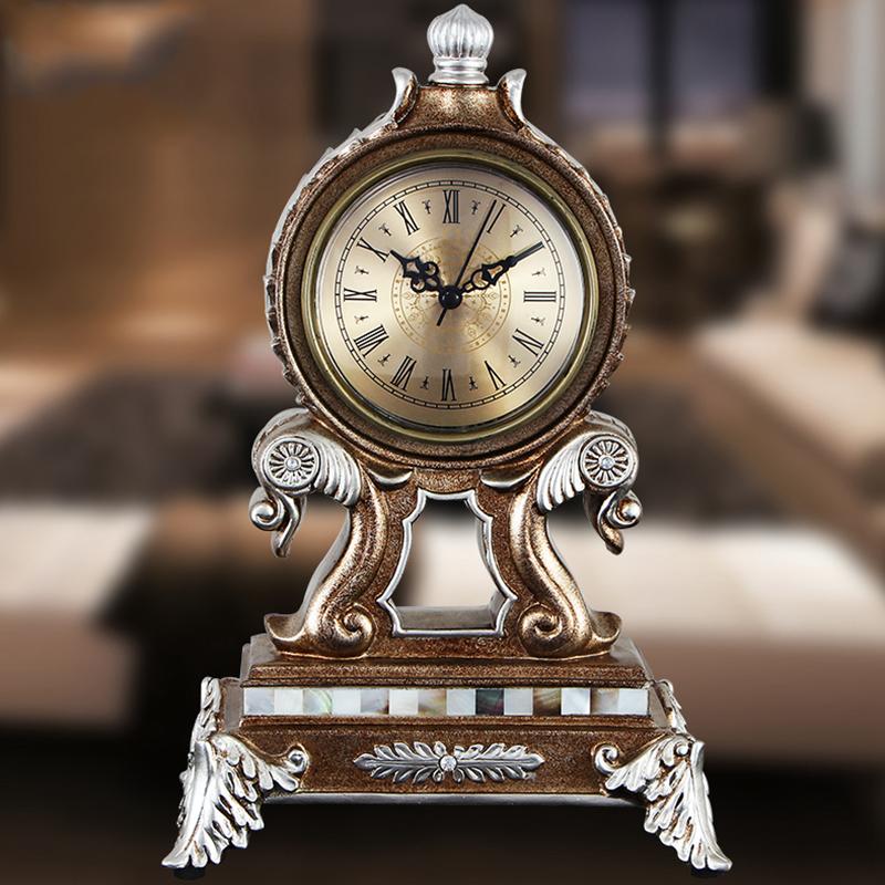欧式家居客厅书房座钟台钟摆件工艺品