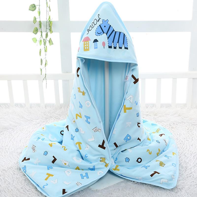 新生儿可脱胆包被襁褓纯棉婴儿用品秋冬季加厚宝宝婴幼儿