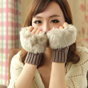 手套女冬可爱韩版