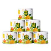 【天猫超市】水果时光缤纷礼盒新鲜即食水果黄桃盒子210g*6罐