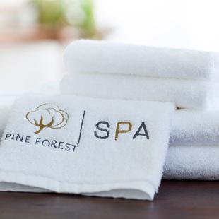 松树林酒店SPA大毛巾纯棉加厚洗脸面巾全棉成人男女士儿童运动巾