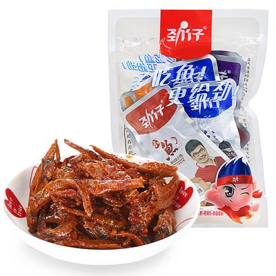 【天猫超市】劲仔 混合口味小鱼150g/袋 小鱼仔鱼干 小吃零食