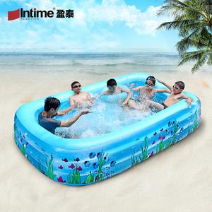 盈泰充气游泳池大型加厚家庭成人浴缸小孩儿童戏水池婴儿海洋球池