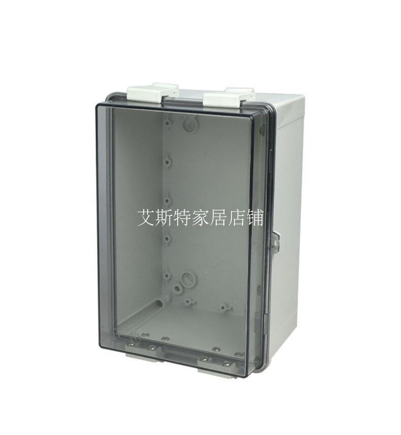 带扣防水接线盒 透明塑料电器盒