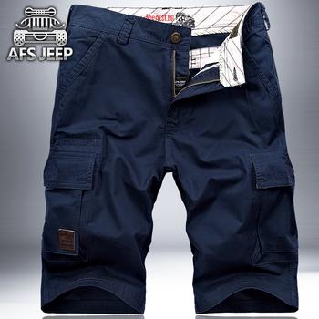 AFS  JEEP短裤男士夏季战地吉普