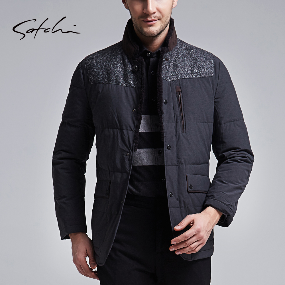外套男士鵝絨羽絨服保暖冬季時尚