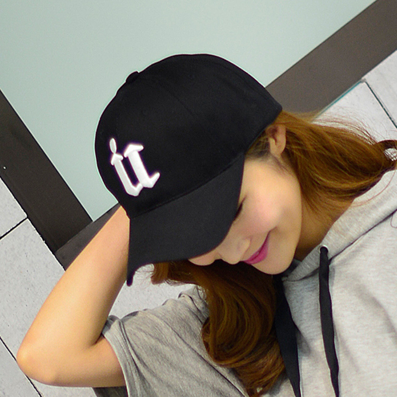 帽子女春夏天男士棒球帽鸭舌帽休闲百搭韩版潮黑色太阳帽遮阳帽