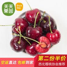 【天天果园】 美国西北樱桃 2斤 进口水果新鲜美国车厘子