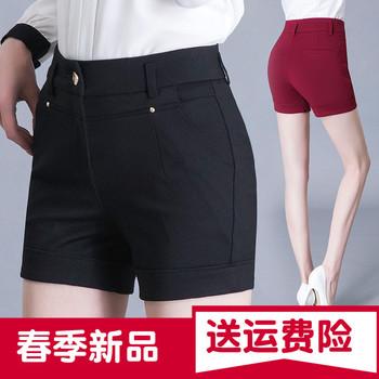 短裤女春夏新款外穿打底裤弹力大
