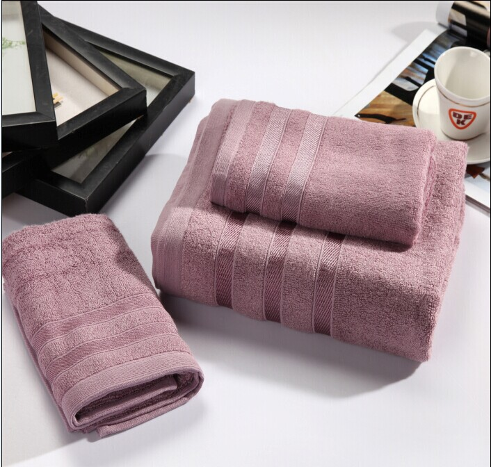 昱翔家纺 加厚加大竹纤维毛巾浴巾三件套成人情侣纤维毛巾新品