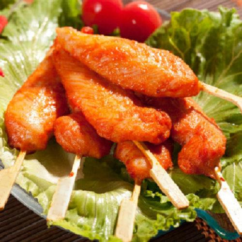 川香鸡柳肉串 烧烤铁板 油炸 冷冻食品 西餐 手抓饼原料 串串香