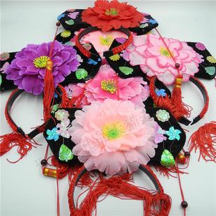 格格帽 清朝宫廷公主头饰 北京特色旅游纪念品皇后帽  故宫礼物