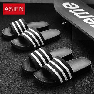 韩版新款夏天居家浴室洗澡防滑凉拖鞋男夏季家居家用内外男款托鞋