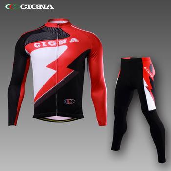 CIGNA春秋自行车服装骑行服长袖