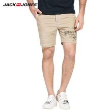 夏纯棉夏季宽松休闲短裤 215215004 JackJones杰克琼斯男装