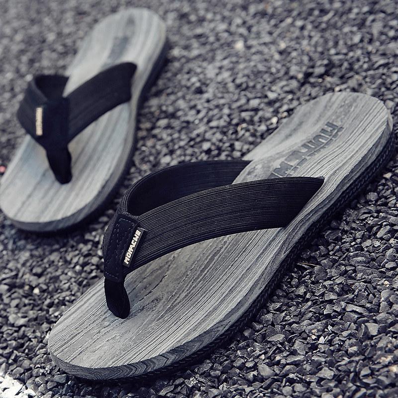 防滑凉鞋人字拖男夏夹脚凉拖休闲拖鞋沙滩鞋欧美