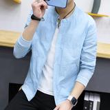 【2件装】防晒衣服男韩版夏季2017新款修身男士夹克外套薄款透潮